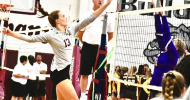 New Albany's Greta Blakemore Commits to Union University Volleyball