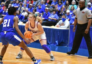 Hall's Hot Shooting Drives Lady Falcons Past Simmons